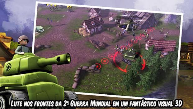 Hill of Glory traz a estratégia da Segunda Guerra para o seu Android (Foto: Divulgação)