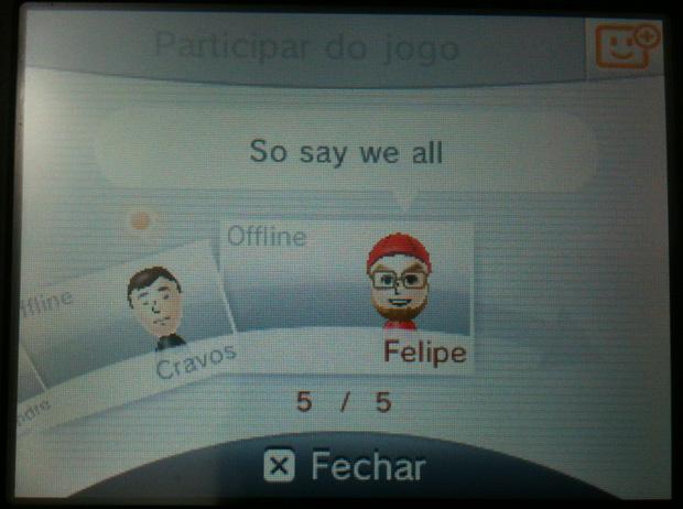 Depois de adicionados, seus amigos podem participar de jogos online  (Foto: Reprodução / TechTudo)