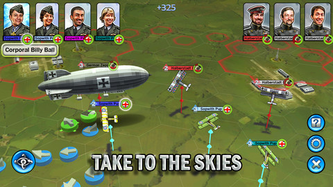 Ace Patrel é um game de estratégia que se passa na Primeira Guerra Mundial (Foto: Divulgação)