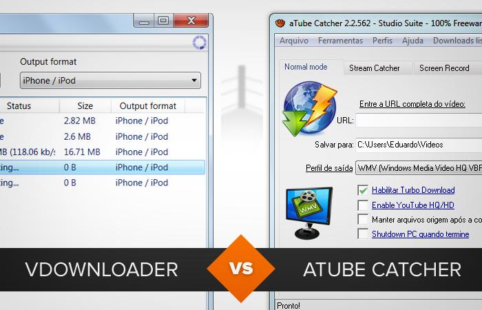 Atube vs Vdownloader. Qual é o melhor? (Foto: Reprodução/TechTudo)