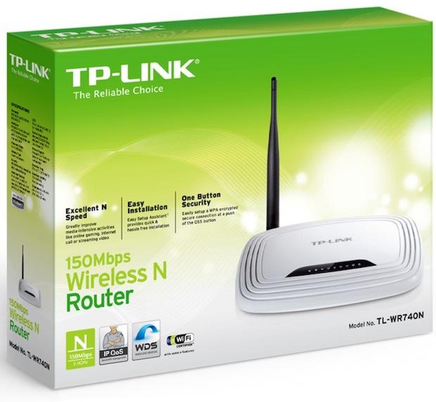 Roteador TP-Link TL-WR740N (Foto: Divulgação)