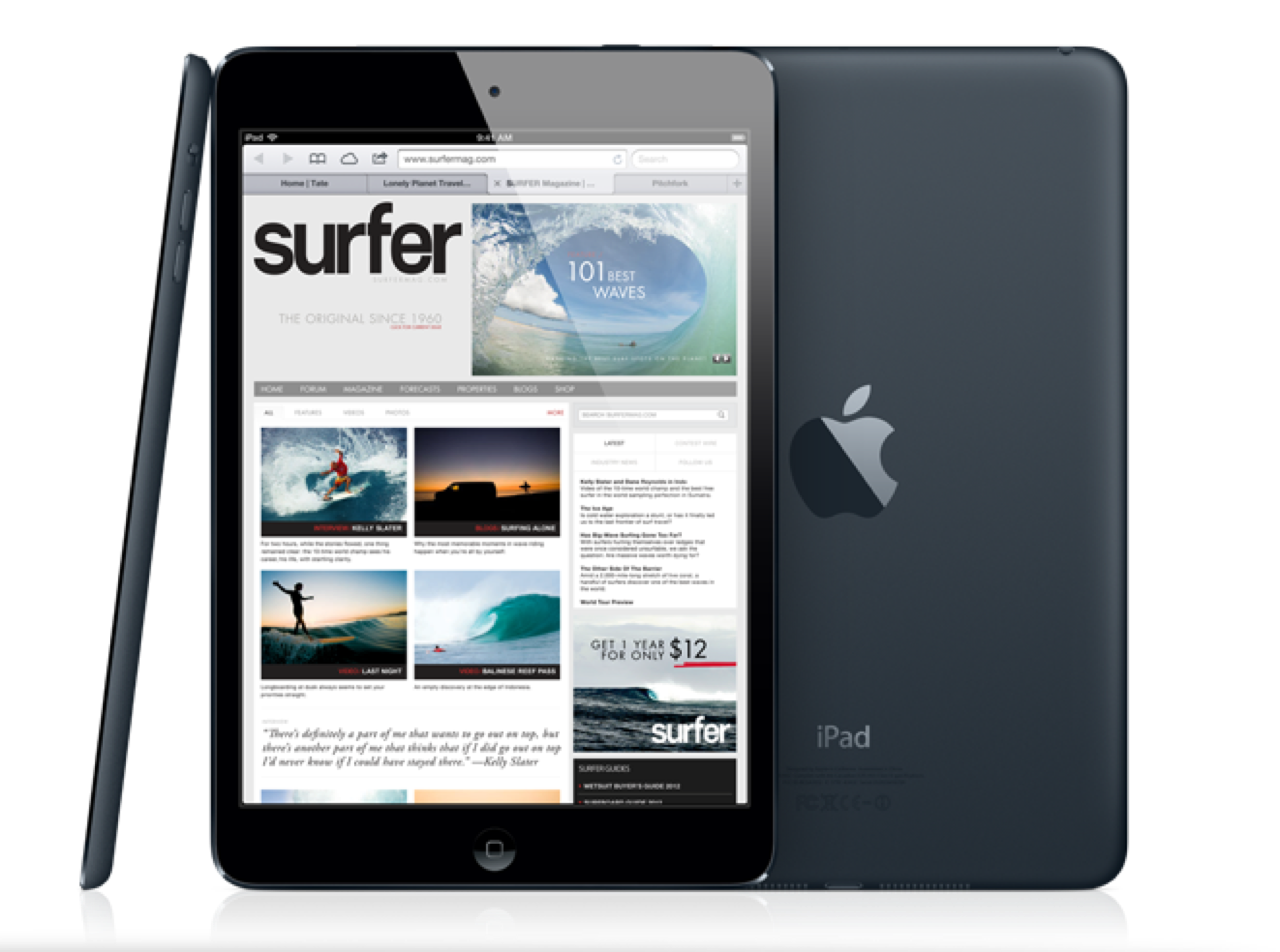 iPad 5 adotará o design do iPad Mini, mantendo uma identidade visual para a linha de tablets (Foto:Reprodução/iPhoneincanada) (Foto: iPad 5 adotará o design do iPad Mini, mantendo uma identidade visual para a linha de tablets (Foto:Reprodução/iPhoneincanada))