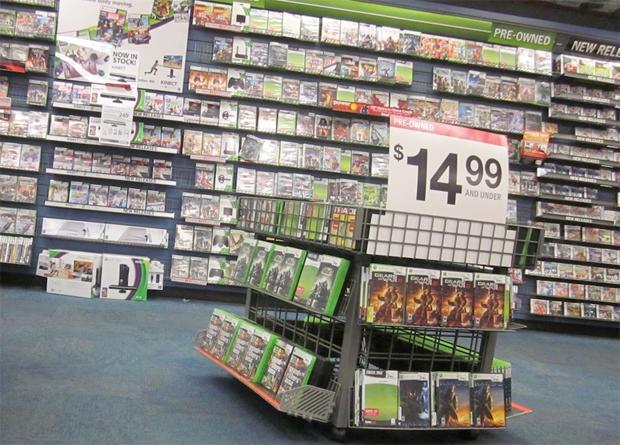 Jogos usados terçao taxa no Xbox One (Foto: Reprodução/Kotaku)