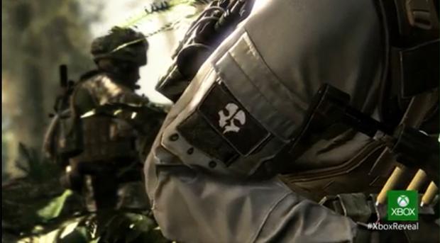Trailer do novo Call of Duty foi exibido em primeira mão durante o evento (Foto: reprodução/ Microsoft)