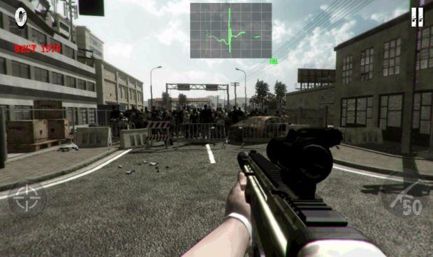 Game de tiro brasileiro foi criado para funcionar em tablets (Foto: Divulgação)