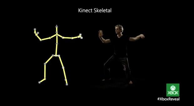 O Kinect do Xbox One teve melhorias em seu desempenho e novas funções integradas (Foto: Divulgação)