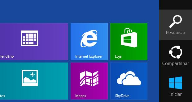 Iniciando a pesquisa do Windows 8 (Foto: Reprodução/Edivaldo Brito)