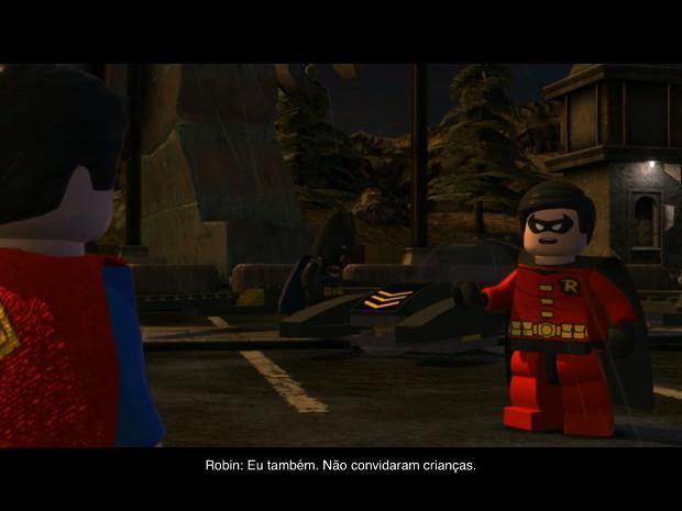 """Personagens da Liga da Justiça estão em """"Lego Batman: DC Super Heroes (Foto: Reprodução / Dario Coutinho) (Foto: Personagens da Liga da Justiça estão em """"Lego Batman: DC Super Heroes (Foto: Reprodução / Dario Coutinho))"""