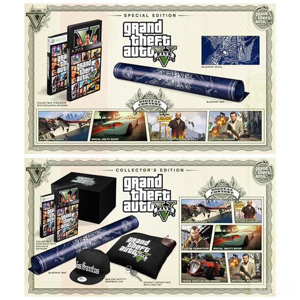 As surpreendentes edições limitadas de GTA 5 (Foto: Divulgação)