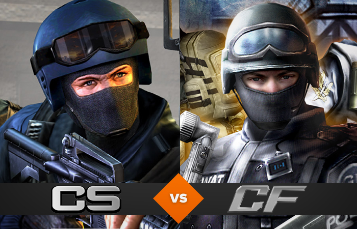 Counter Strike vs. Cross Fire (Foto: Reprodução / TechTudo)