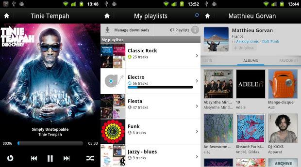 Com o Deezer, você pode ouvir e baixar sua músicas favoritas (Foto: Divulgação)