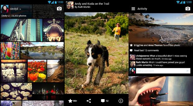 Flickr chega com bela interface ao Android (Foto: Divulgação)