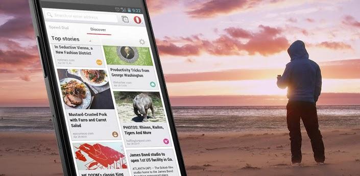 Opera para Android ganha atualização com redesign e novas funcionalidades. (Foto: Reprodução / Google Play Store)