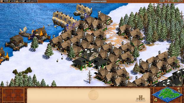 Age of Empires 2 HD faz bonito nos gráficos e detalhes (Foto: Divulgação)