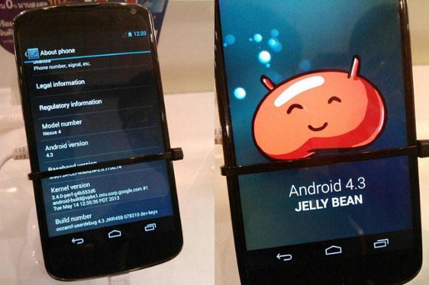 Fotos indicam que próxima versão do Android será a 4.3 (foto: Divulgação)