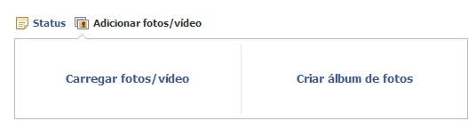 Carregando vídeo no Facebook