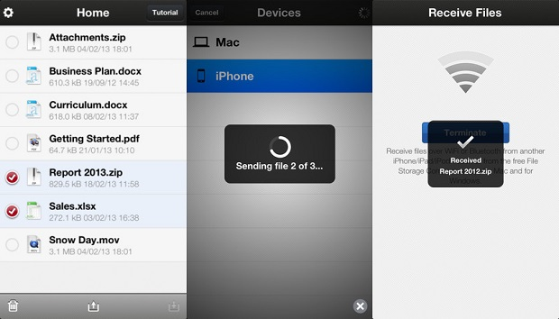 Transfira arquivos entre diferentes dispositivos com o File Transfer (Foto: Divulgação)