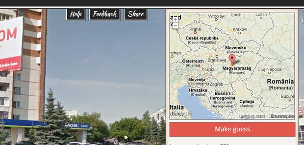 Marque seu palpite no GeoGuessr (Foto: Reprodução)
