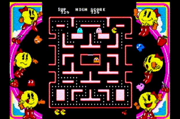 Ms. Pac-Man era a esposa do herói e ganhou jogo próprio (Foto: Reprodução)