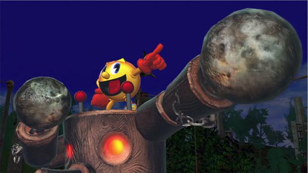 Participação especial de Pac-Man em Street Fighter X Tekken (Foto: Divulgação)