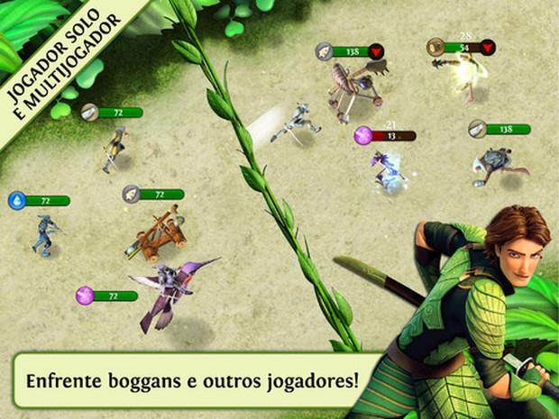 Em Reino Escondido você pode enfrentar outros jogadores no modo PvP (Foto: Divulgação)