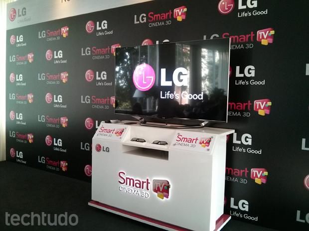 LG lança sua nova linha de Smart TV (Foto: TechTudo)