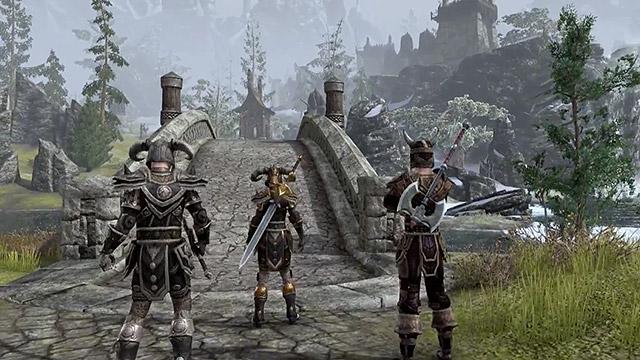 The Elder Scrolls Online terá cenários vastos e muita cooperatividade (Foto: Divulgação)