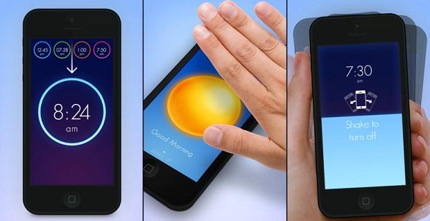 Crie vários alarmes e desative-os colocando a mão ou sacudindo o iPhone (Foto: Divulgação)