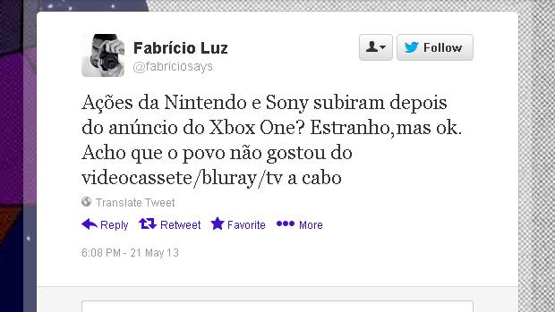 @fabriciosays (Foto: Reprodução)