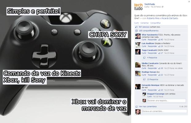 Na página do TechTudo no Facebook os usuários aprovaram o controle (Foto: Reprodução)