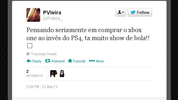 @PVieira_ (Foto: Reprodução)