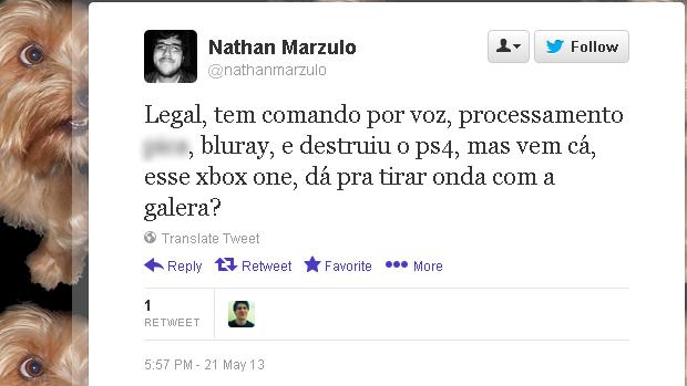 @nathanmarzullo (Foto: Reprodução)