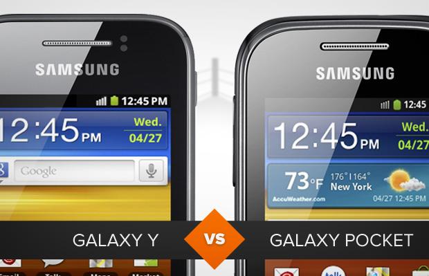 Galaxy Y ou Galaxy Pocket: qual leva a melhor? O TechTudo analisa (Foto: Arte/TechTudo)