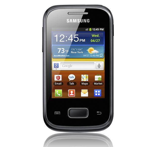 Galaxy Pocket, o concorrente direto do Galaxy Y (Foto: Divulgação) (Foto: Galaxy Pocket, o concorrente direto do Galaxy Y (Foto: Divulgação))
