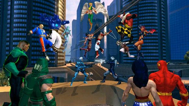 Crie seu próprio herói para invadir o universo da DC (Foto: Divulgação)