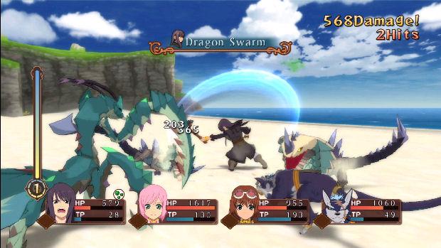 A saga Tales faz uso de gráficos coloridos, pitadas de humor e muita ação (Foto: Reprodução/PlaystationLifeStyle)