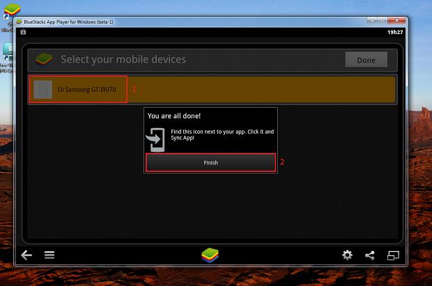 Selecione o dispositivo já cadastrado no Google (Foto: Reprodução/Thiago Bittencourt)
