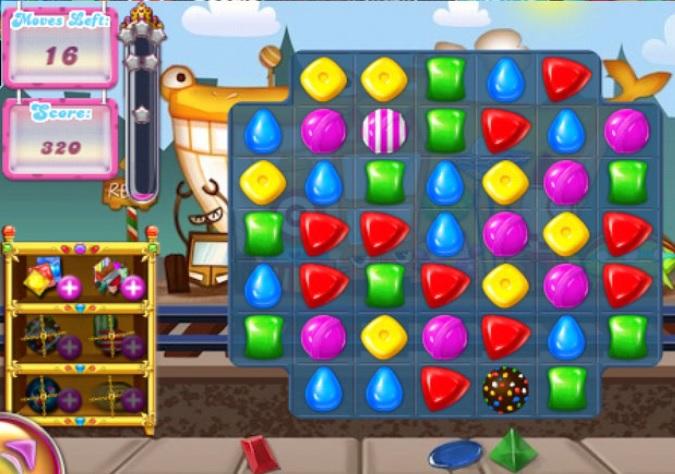 Adventure of Candy é muito semelhante a Candy Crush Saga (Foto: Reprodução)