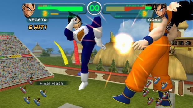 Goku e Vegeta levam suas lutas para a alta definição em Budokai HD Collection (Foto: metalarcade.net)