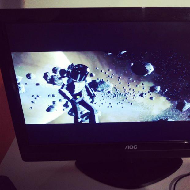 Abertura do game educativo Operação Cosmos (Foto: Pedro Zambarda/TechTudo)