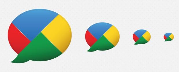 Ícones do finado Google Buzz, rede social da Google (Foto: Rerprodução / idesignow.com/)