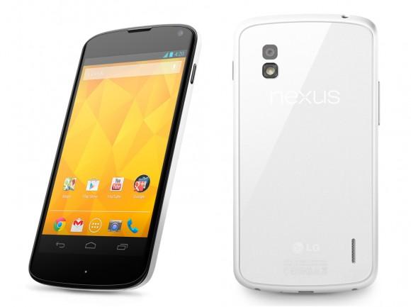 LG Nexus 4 na versão branca (Foto: Divulgação)