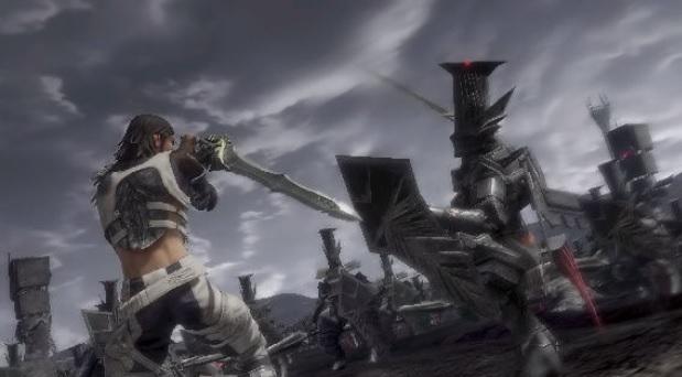 Muitas batalhas com espadas no maior estilo Final Fantasy (Foto: Reprodução / IGN)