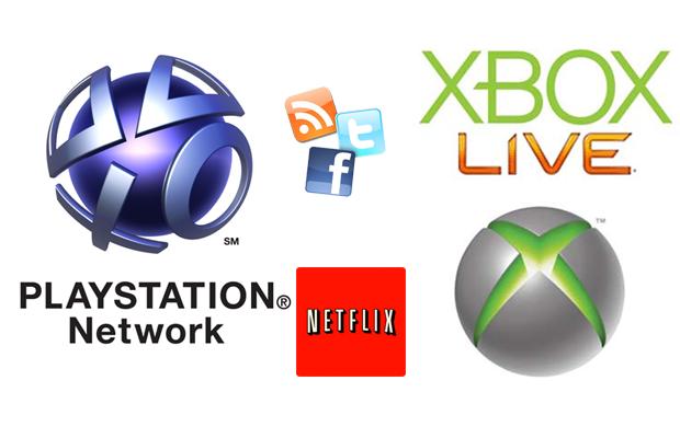 Filmes Online e Redes Sociais no PS3 e no Xbox 360 (Foto: TechTudo)
