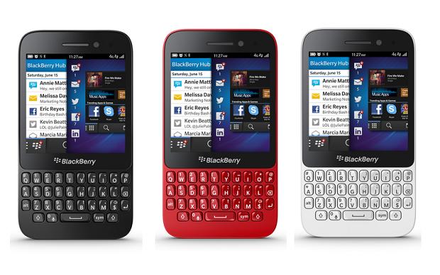 BlackBerry Q5 tem teclado QWERTY físico e tela touchscreen (Foto: Divulgação)