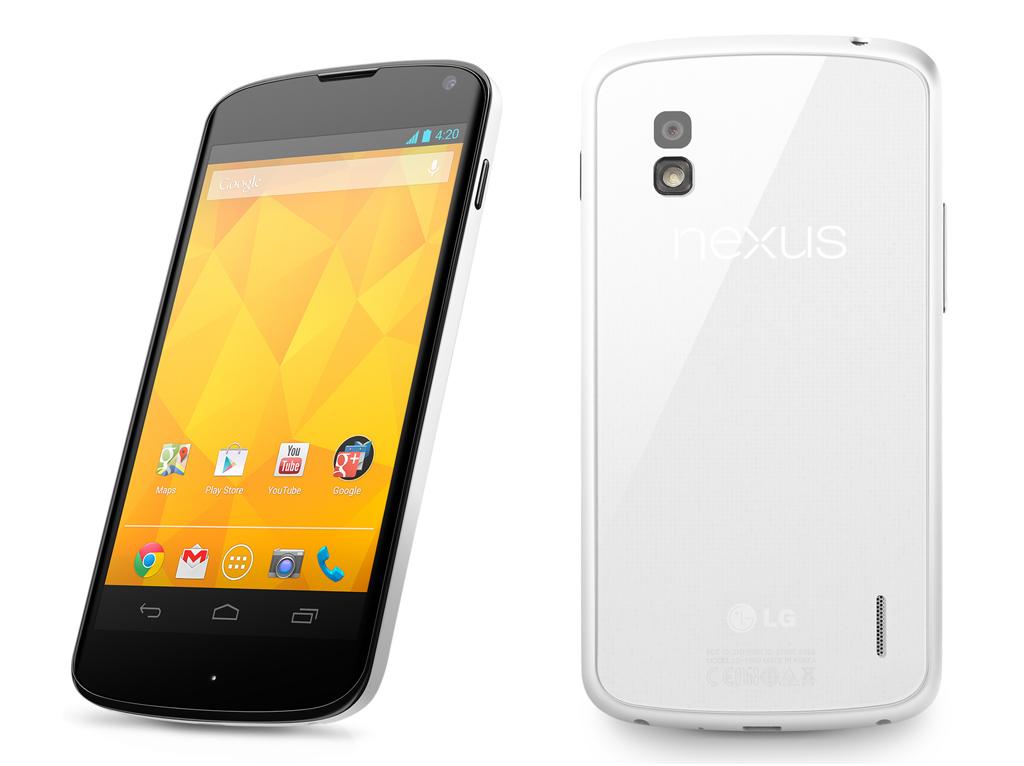Versão branca do Nexus 4 será lançada no Brasil em junho (Foto: Divulgação)