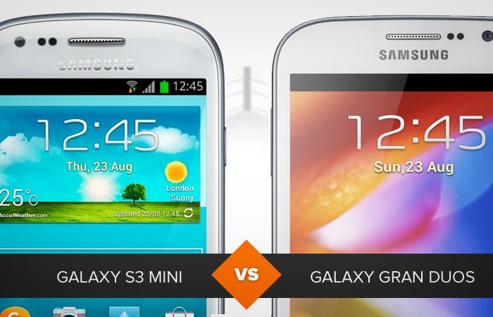 Galaxy S3 Mini ou Galaxy Gran Duos? Qual dos smartphones da Samsung leva a melhor? (Foto: Arte/TechTudo)
