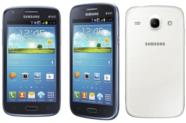 Galaxy Core tem processador dual-core e entrada para dois chips (Foto: Divulgação)