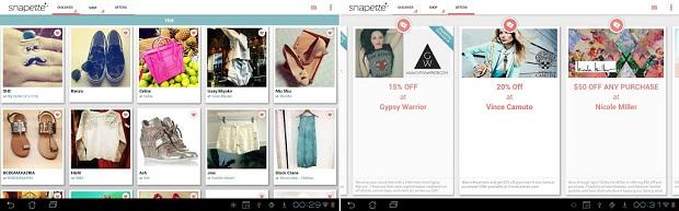 Snapette é ótimo para buscar inspirações de looks (Foto: Divulgação)
