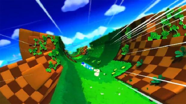 Lost World lembra o cancelado Sonic X-Treme (Foto: Reprodução)